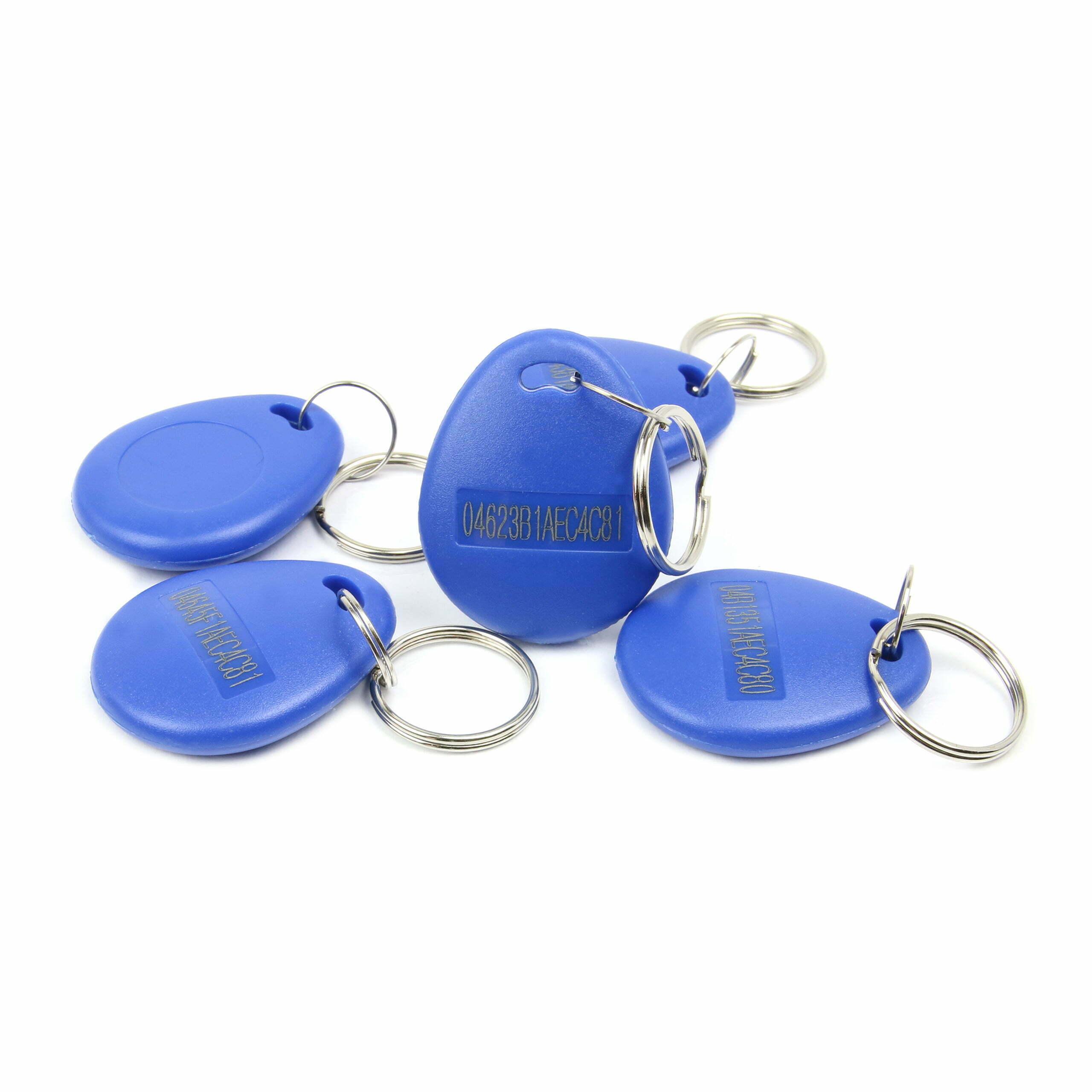 NFC Keyfob, ABS, UID-Print, 37x30mm, NTAG 213, 180 Byte