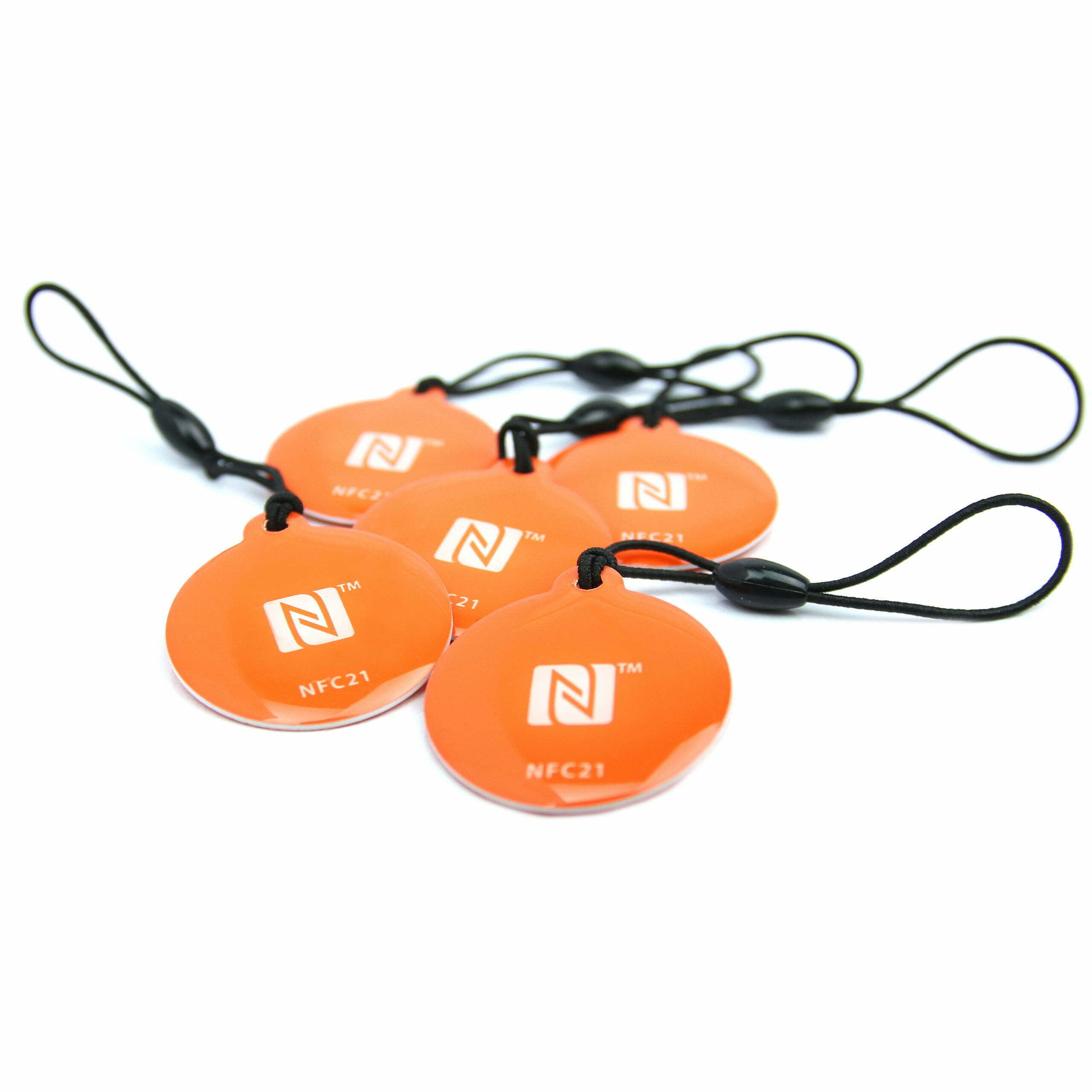 NFC Keyfob Epoxy, 30 mm, NTAG 213, 180 byte