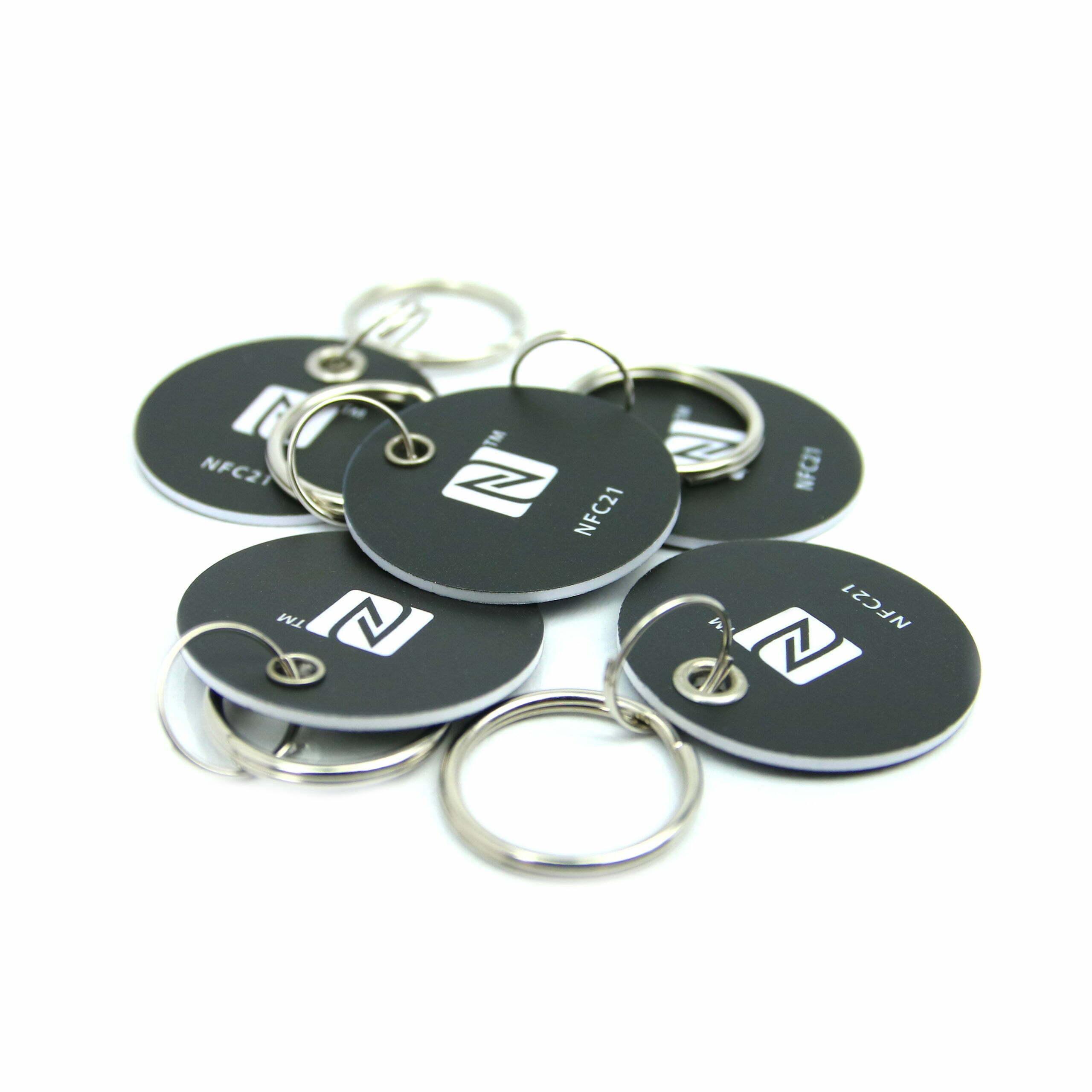 NFC Key Card, 30 mm, NTAG 213, 180 byte