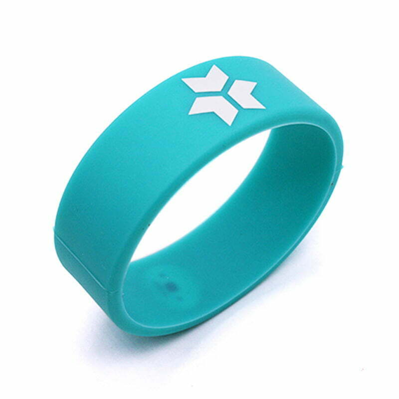 Silicone NFC Round Wristband MIFARE 1K, 1024 byte - NFC Products